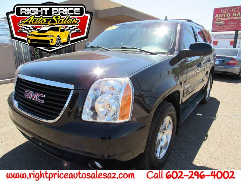 2007 gmc yukon slt 4dr suv w 4sb w slt 2 package in phoenix az right price auto sales. Black Bedroom Furniture Sets. Home Design Ideas