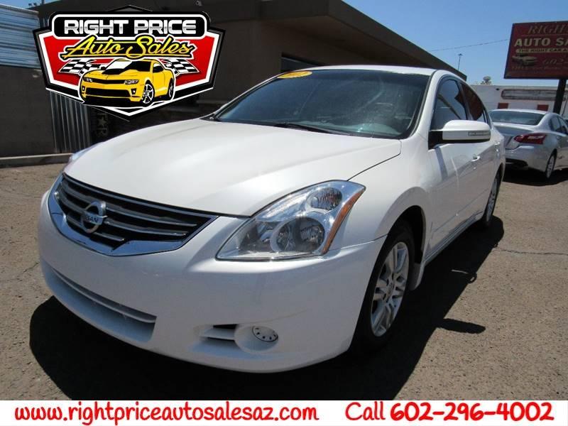 2012 Nissan Altima 25 Sl 4dr Sedan In Glendale Az Right Price