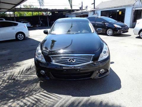 2013 Infiniti G37 Sedan for sale at N c Auto Sales in Los Angeles CA