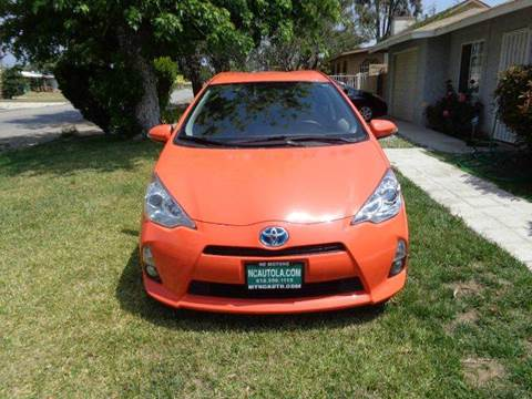 2013 Toyota Prius c for sale at N c Auto Sales in Los Angeles CA