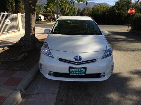 2014 Toyota Prius v for sale at N c Auto Sales in Los Angeles CA