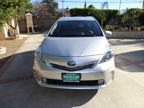 2012 Toyota Prius v for sale at N c Auto Sales in Los Angeles CA