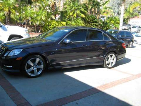 2012 Mercedes-Benz E-Class for sale at N c Auto Sales in Los Angeles CA