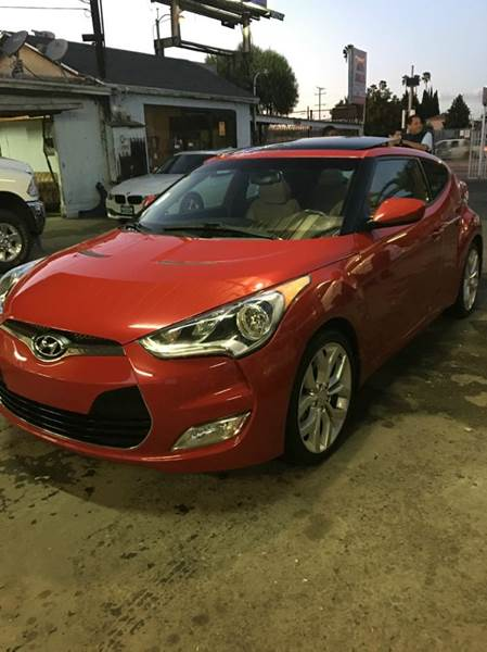 2013 Hyundai Veloster for sale at N c Auto Sales in Los Angeles CA