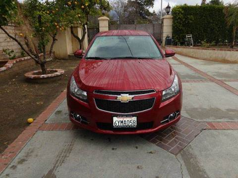 2013 Chevrolet Cruze for sale at N c Auto Sales in Los Angeles CA