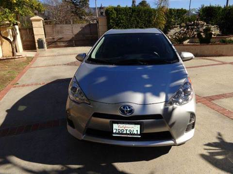 2014 Toyota Prius c for sale at N c Auto Sales in Los Angeles CA