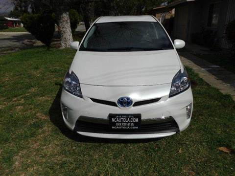 2014 Toyota Prius Plug-in Hybrid for sale at N c Auto Sales in Los Angeles CA