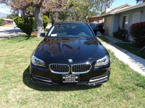2014 BMW 5 Series for sale at N c Auto Sales in Los Angeles CA