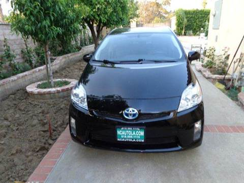 2011 Toyota Prius for sale at N c Auto Sales in Los Angeles CA