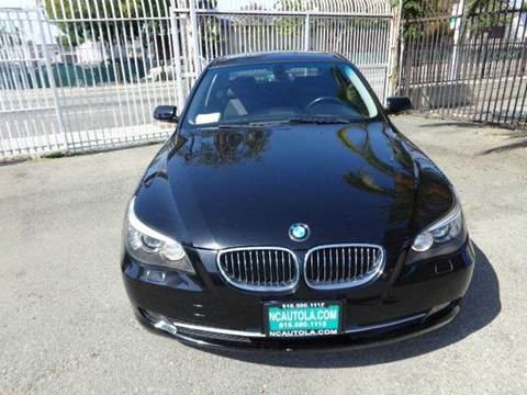 2008 BMW 5 Series for sale at N c Auto Sales in Los Angeles CA