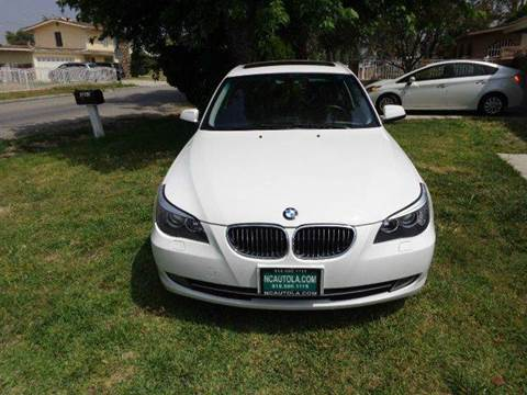 2010 BMW 5 Series for sale at N c Auto Sales in Los Angeles CA