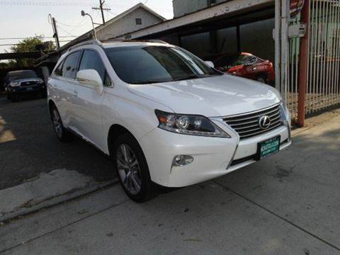 2015 Lexus RX 350 for sale at N c Auto Sales in Los Angeles CA