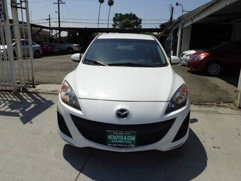 2011 Mazda MAZDA3 for sale at N c Auto Sales in Los Angeles CA