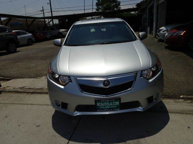 2013 Acura TSX for sale at N c Auto Sales in Los Angeles CA