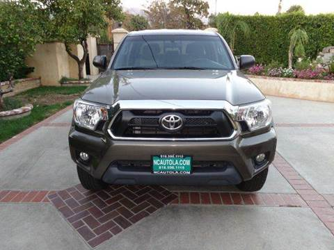2015 Toyota Tacoma for sale at N c Auto Sales in Los Angeles CA
