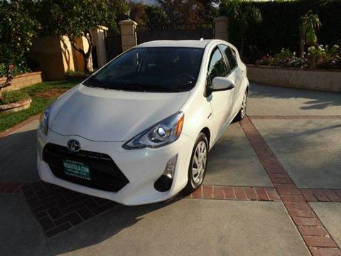 2015 Toyota Prius c for sale at N c Auto Sales in Los Angeles CA