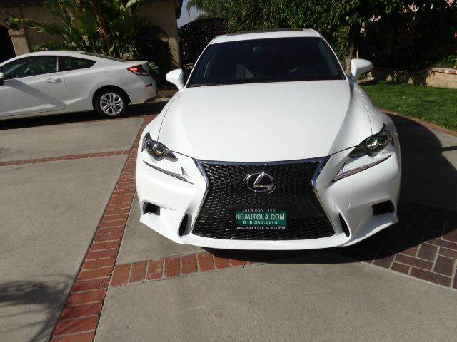 2014 Lexus IS 250 for sale at N c Auto Sales in Los Angeles CA