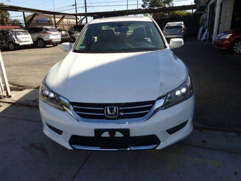 2014 Honda Accord for sale at N c Auto Sales in Los Angeles CA