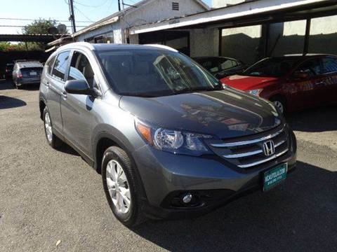 2013 Honda CR-V for sale at N c Auto Sales in Los Angeles CA