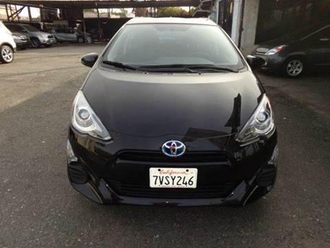 2016 Toyota Prius c for sale at N c Auto Sales in Los Angeles CA