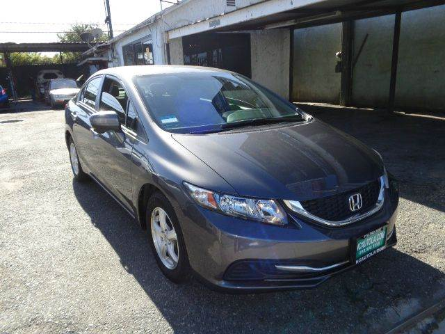 2014 Honda Civic for sale at N c Auto Sales in Los Angeles CA