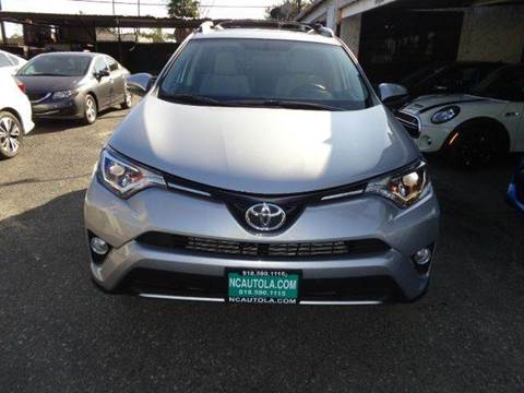 2016 Toyota RAV4 for sale at N c Auto Sales in Los Angeles CA
