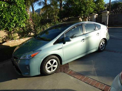 2012 Toyota Prius for sale at N c Auto Sales in Los Angeles CA