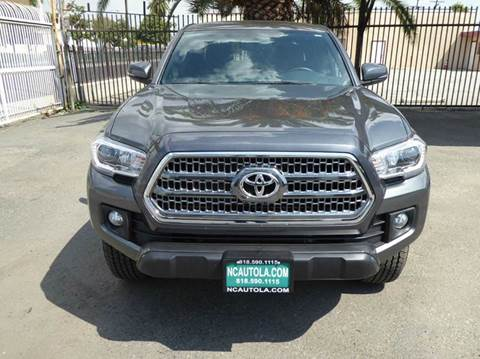 2016 Toyota Tacoma for sale at N c Auto Sales in Los Angeles CA