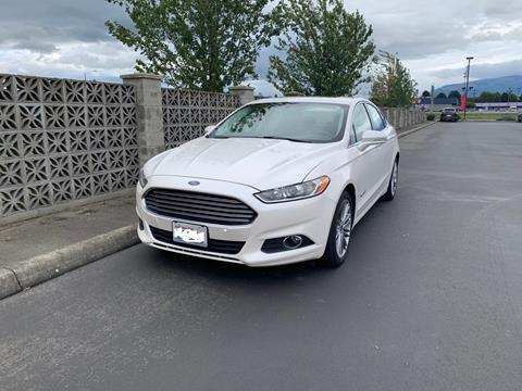 2014 Ford Fusion Hybrid for sale in Burlington, WA