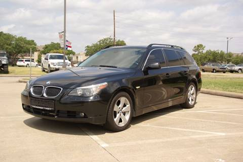 2007 BMW 5 Series for sale in Houston TX