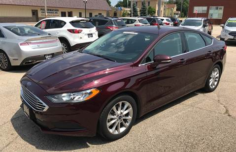 2017 Ford Fusion for sale in Princeton, WI