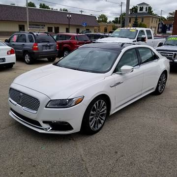 2017 Lincoln Continental for sale in Princeton, WI
