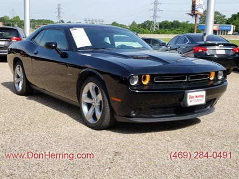2017 Dodge Challenger for sale in Dallas, TX