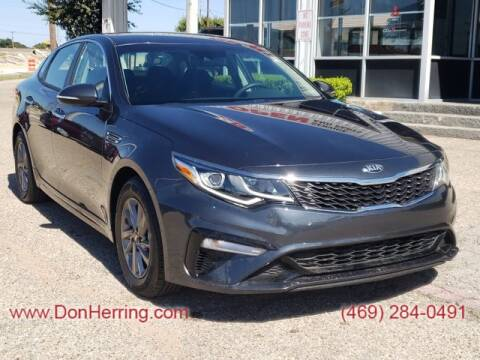 2020 Kia Optima for sale at Don Herring Mitsubishi in Dallas TX