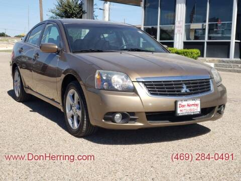 2009 Mitsubishi Galant for sale at Don Herring Mitsubishi in Dallas TX
