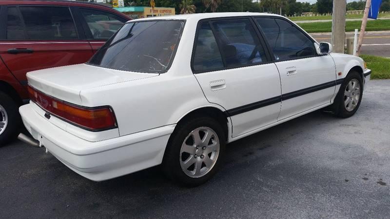 1991 Honda Civic DX 4dr Sedan - Plant City FL