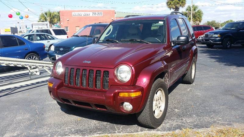 2003 Jeep Liberty Limited 4dr SUV - Plant City FL