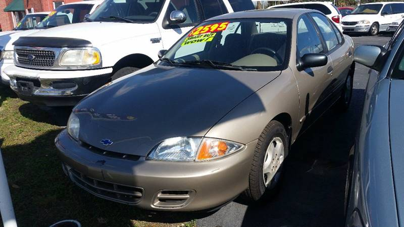 2001 Chevrolet Cavalier 4dr Sedan - Plant City FL