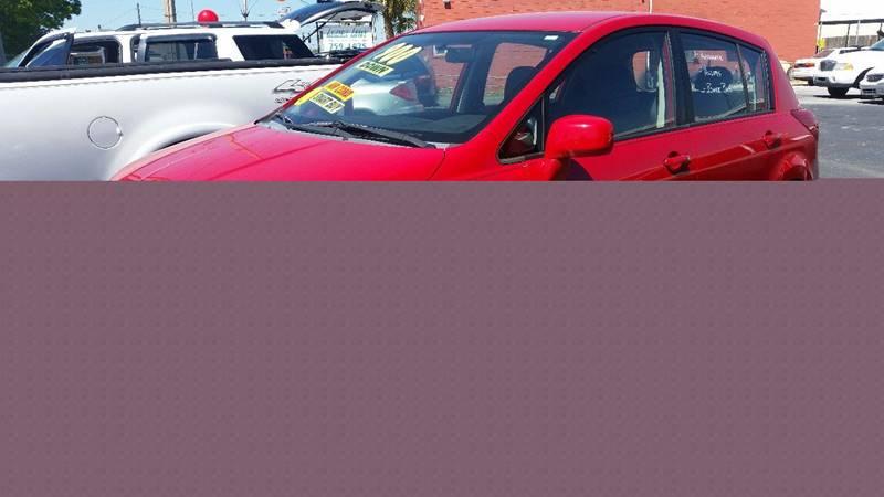 2007 Nissan Versa 1.8 S 4dr Hatchback (1.8L I4 4A) - Plant City FL