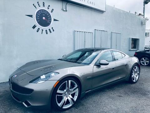 2012 Fisker Karma for sale in Miami, FL