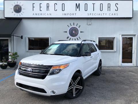 2013 Ford Explorer for sale in Miami, FL