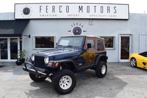 1997 Jeep Wrangler for sale in Miami, FL