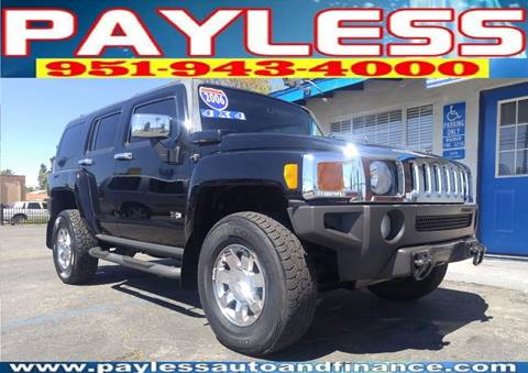 2006 HUMMER H3 for sale in Beaumont, CA