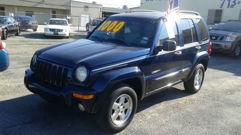 2004 Jeep Liberty for sale at BSA Used Cars in Pasadena TX