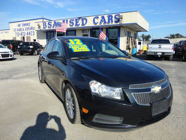 2012 Chevrolet Cruze for sale at BSA Used Cars in Pasadena TX