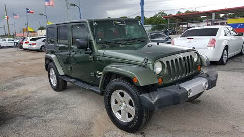 2008 Jeep Wrangler Unlimited for sale in Pasadena, TX