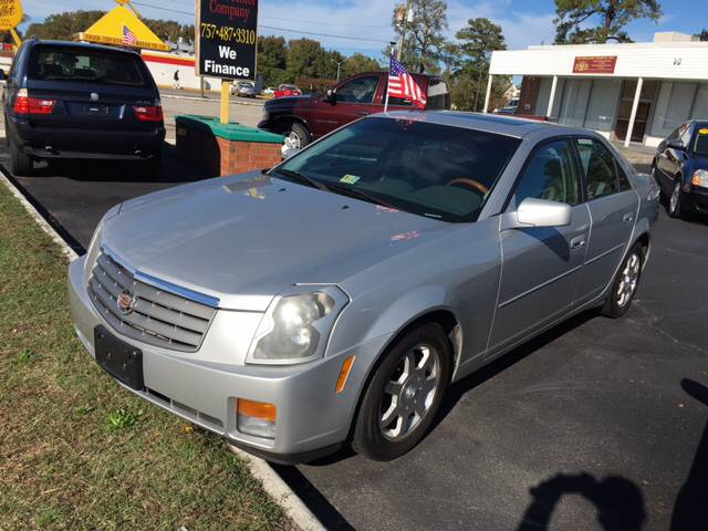 2003 Cadillac CTS for sale at Aiden Motor Company in Portsmouth VA