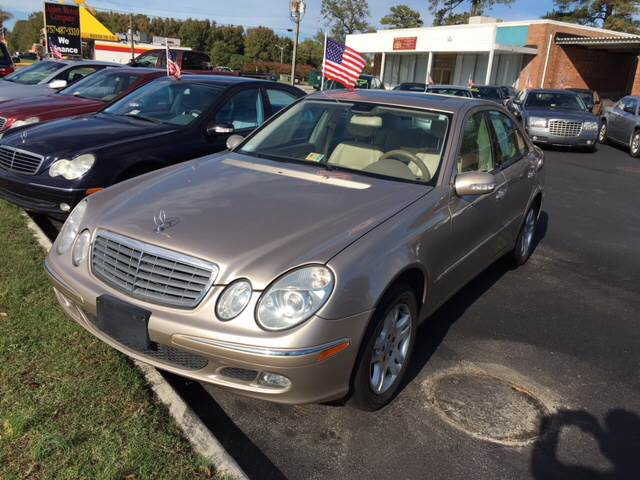 2005 Mercedes-Benz E-Class for sale at Aiden Motor Company in Portsmouth VA