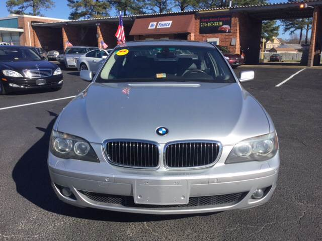 2008 BMW 7 Series for sale at Aiden Motor Company in Portsmouth VA