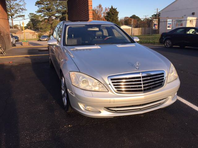 2007 Mercedes-Benz S-Class for sale at Aiden Motor Company in Portsmouth VA